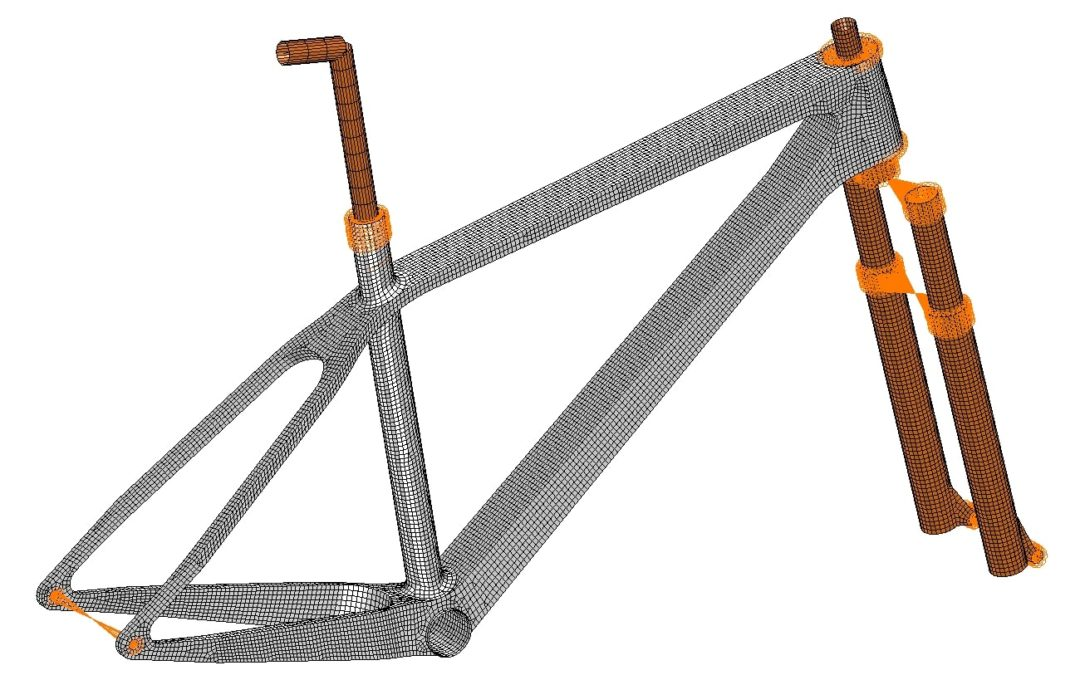 Case Study Update – Automated design optimisation of 3D-printed titanium bike frame concept