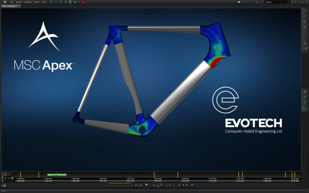 Composite Bike Frame Showcase with MSC Apex