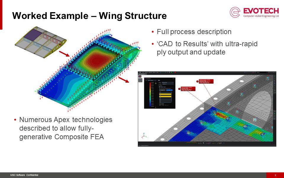 MSC Apex Webinar Series 'Composite Structures for Aerospace'