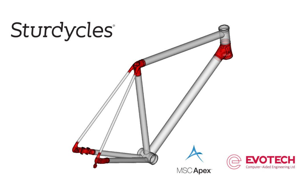Sturdy Cycles – Novel Use of Additive Manufacture in Road Frame Development